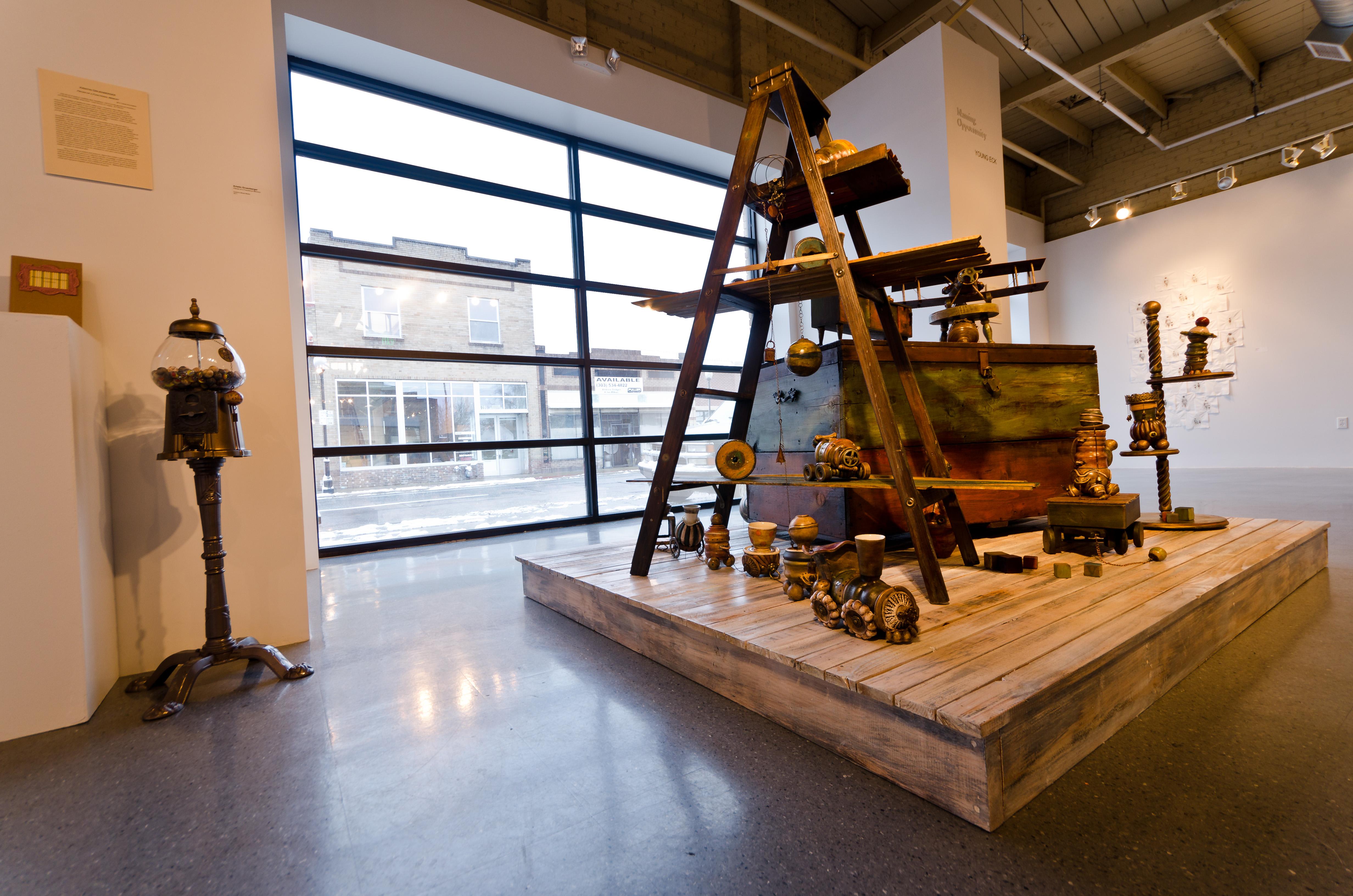 Toys (gallery install, CVA)