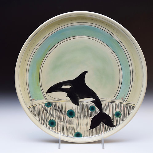 Orca Whale Platter