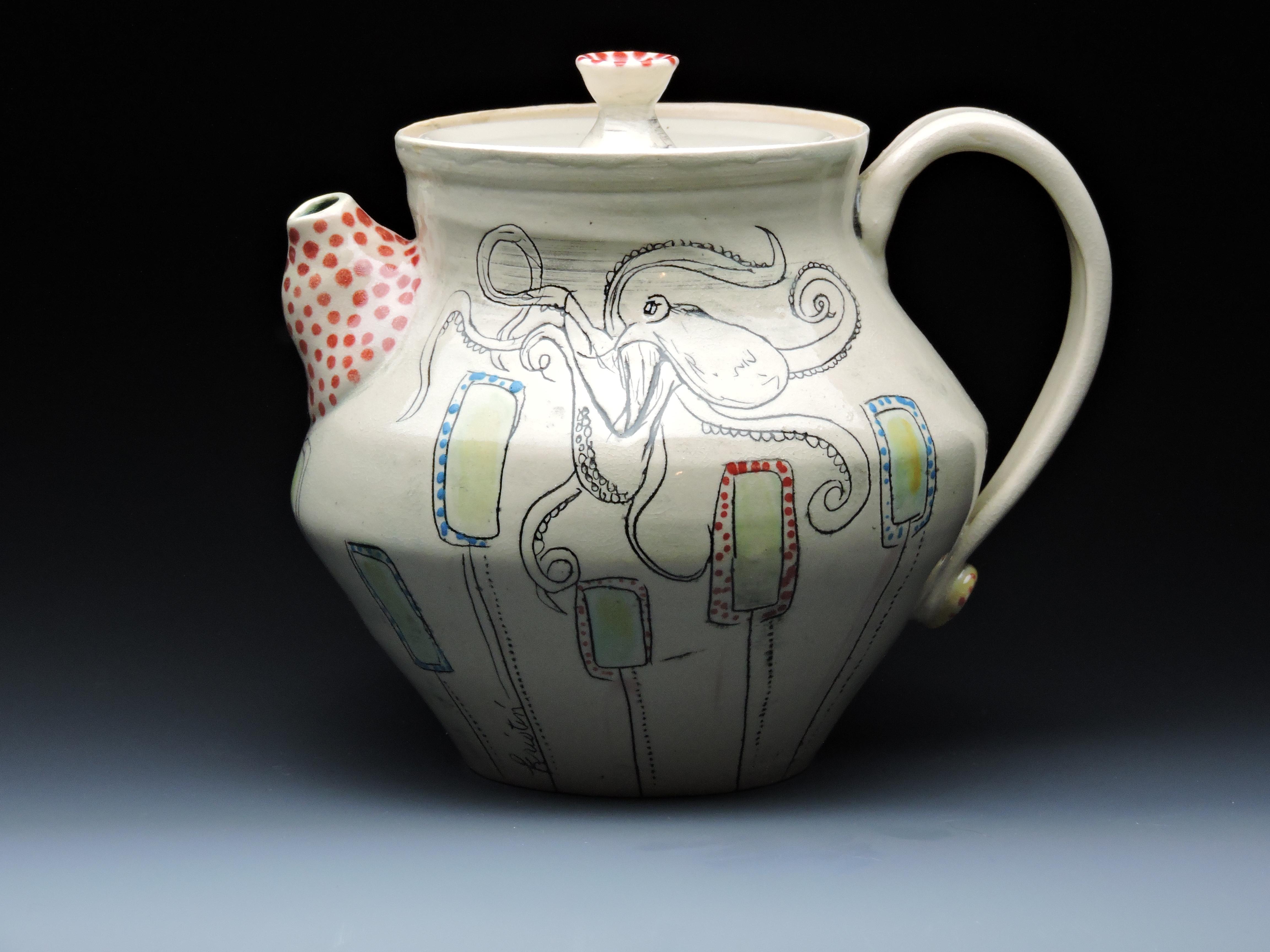 Octopus Teapot
