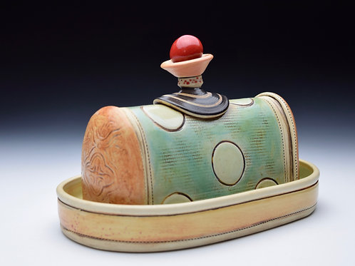 Cherry on Top Butter Dish