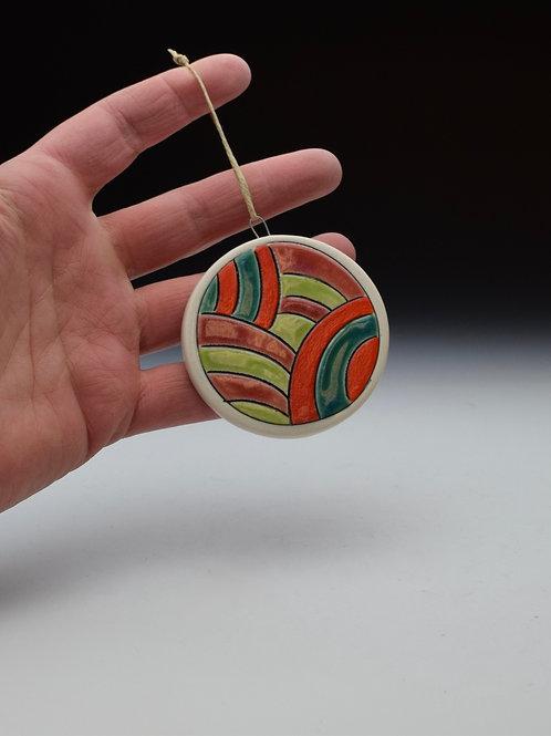 Pops of Color Ornament