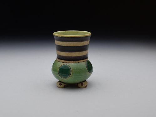Greenie Polka Dot Cup