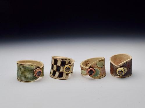Whimsy Napkin Rings Set of 4