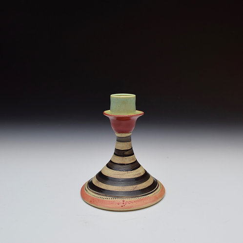 Whimsy Candle Stick- Stripes