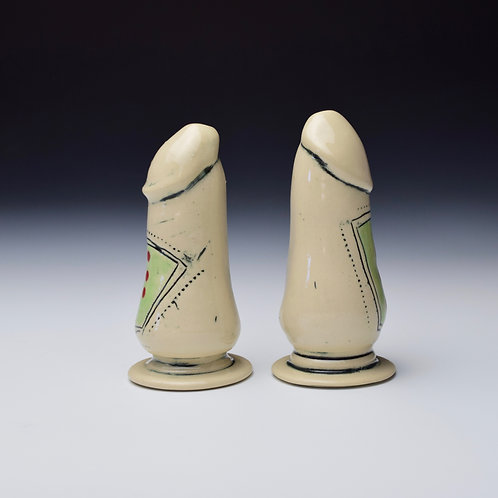 Salt and 'Pecker' Shakers