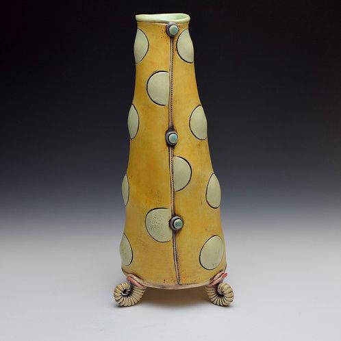 Bubble Dots n' Sunshine Vase