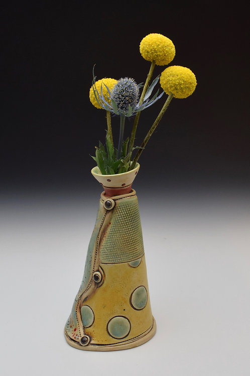 Patchwork Bud Vase