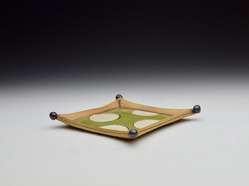 Polka Dot Mini Tray- *Seconds*