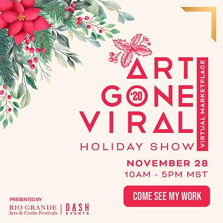 Art Gone Viral Holiday_Square Instagram_