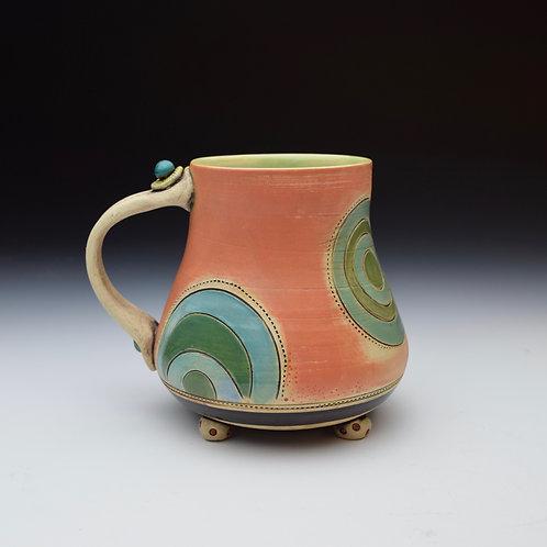 'Circles' Whimsy Mug