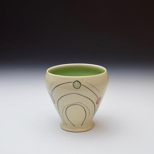 Polka Dot Sipper Cup