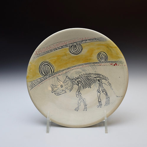 Triceratops Skelly Plate