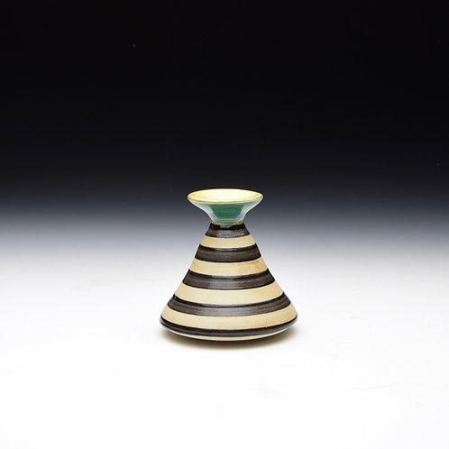 Lil' Stripy Bud Vase