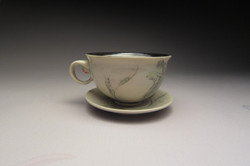 Hummingbird Teacup