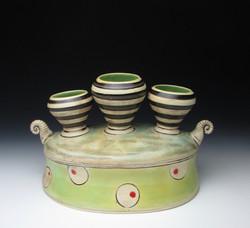Scroll Stack Vase