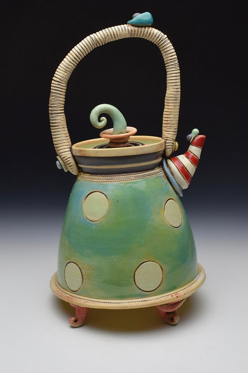 Serving of Suess Teapot