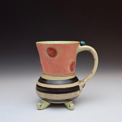 Red Dot Whimsy Mug