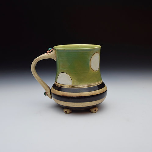 Polka Dot Whimsy Mug