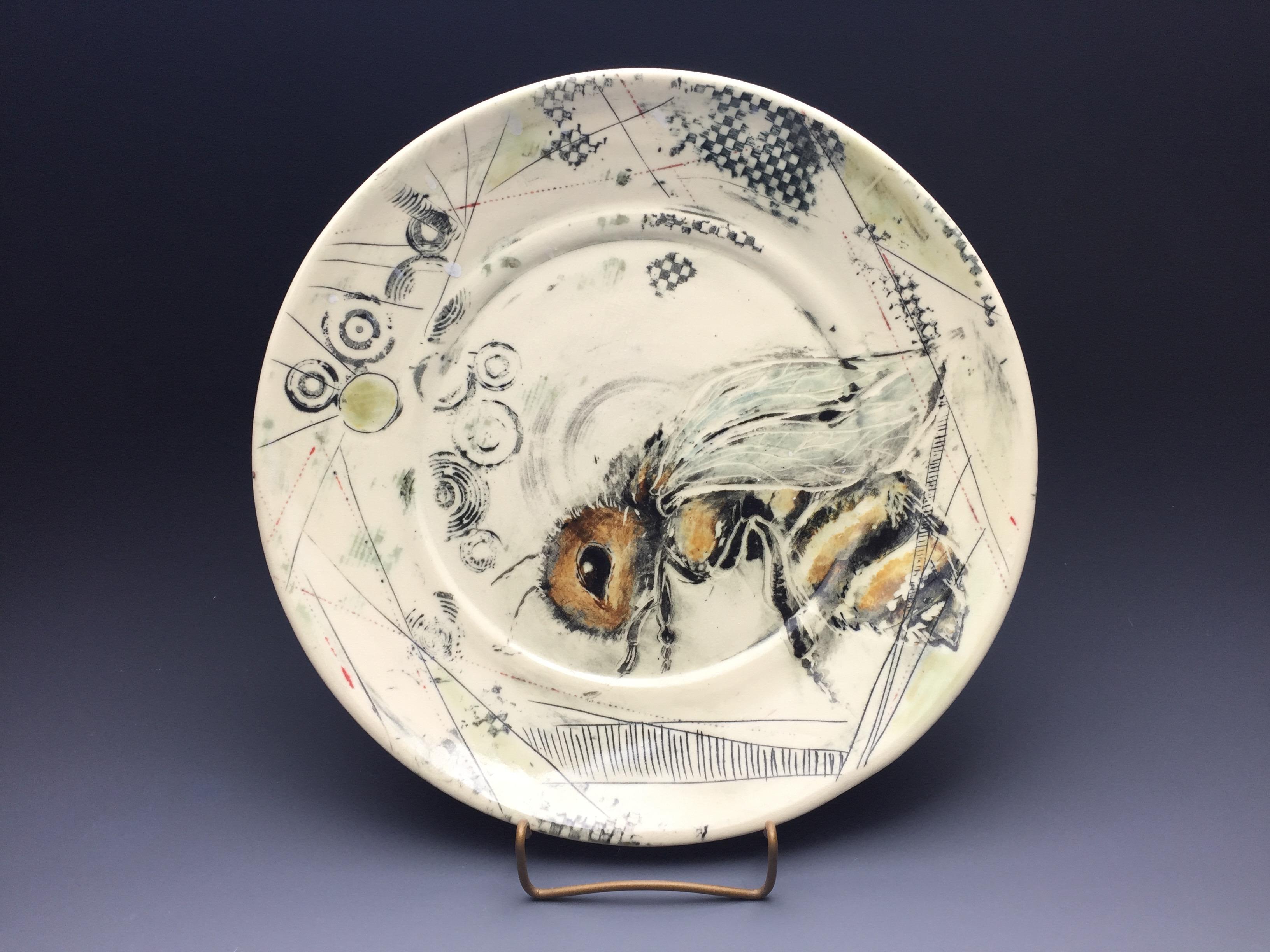 Bee Plate
