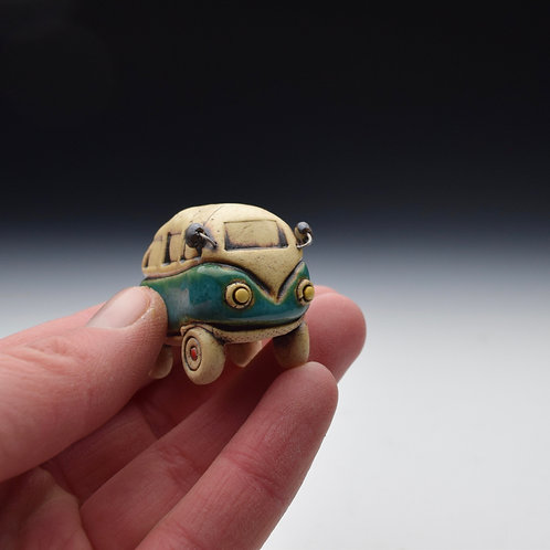 Itty Bitty Bus (Teal)