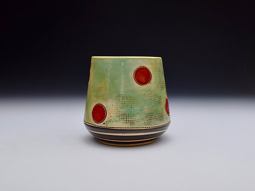 Wine n' Whimsy Cup- Red Dot