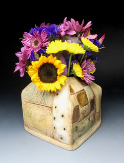 Stitch Pattern Vase
