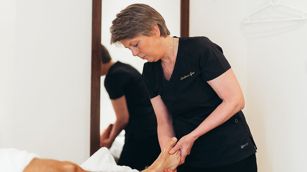 Spa, fotpleie og massasje av rygg/ nakke/ skulder