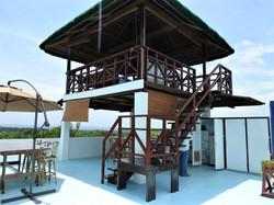 Top view deck