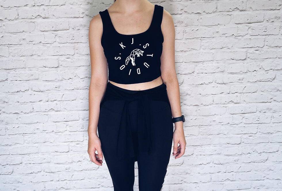 Low neck Cropped tee