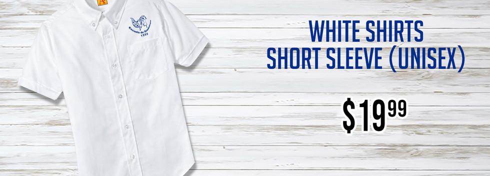 Escuela de Guadalupe White Shirt Short S