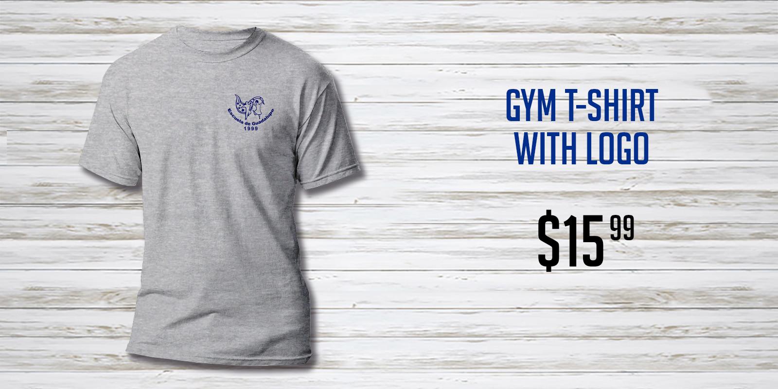 Escuela de Guadalupe Gray Gym T-Shirt NE