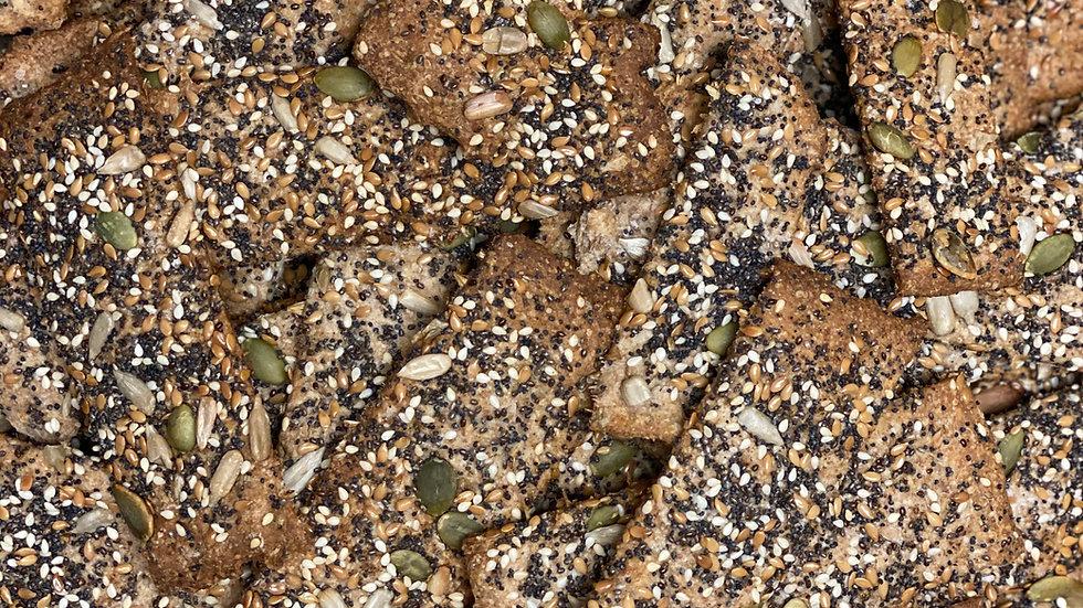 Sourdough Crackers with Spent Grain