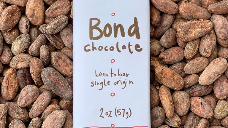 2 x Bars of Bean to Bar Chocolate at $6 each