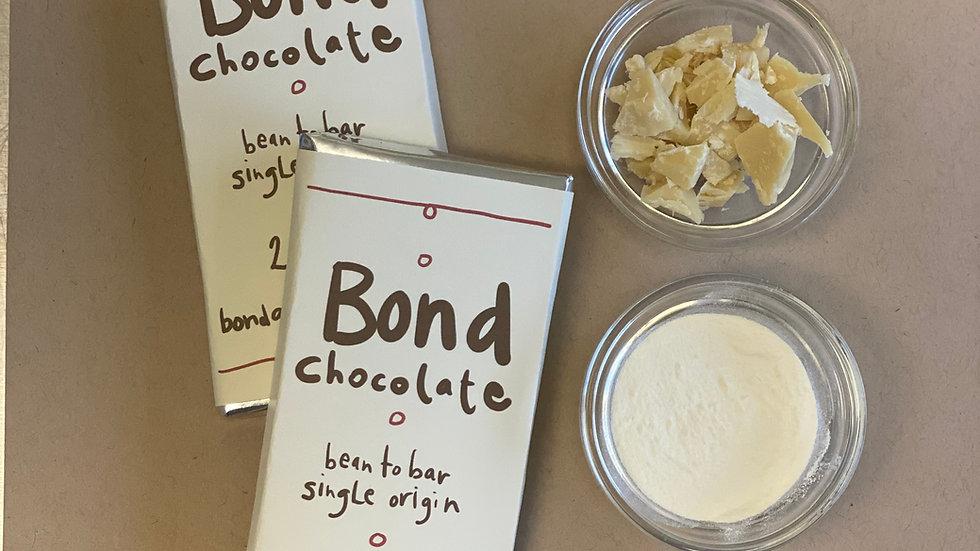 2 x 50% Milk Chocolate Single Origin Bean to Bar