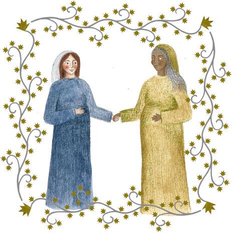 Mary meets Elizabeth