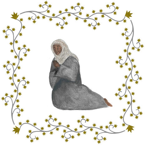 Anna prays
