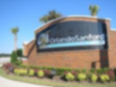 Entrance to the Orlando Sanford International Airport