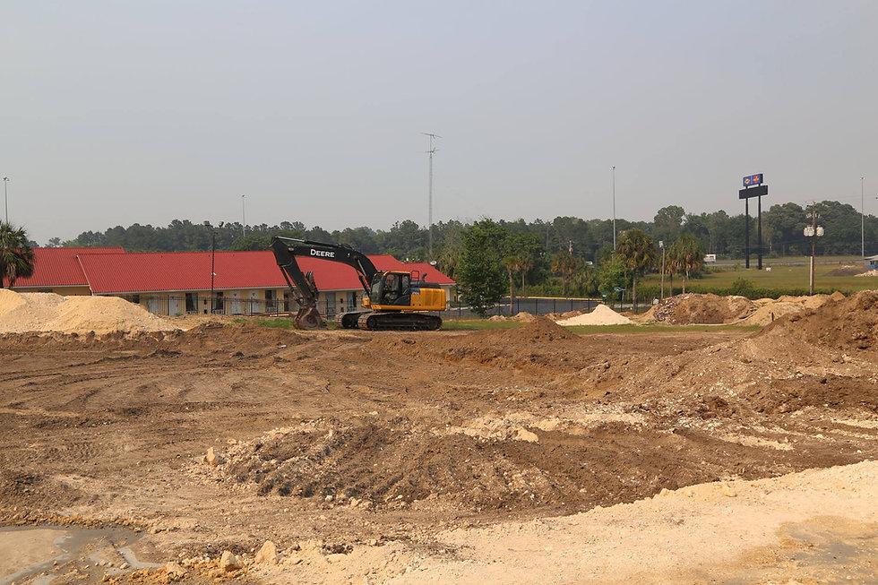 ellisville truck stop site prep