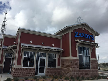 Front exterior of Zaxby's Restaurant