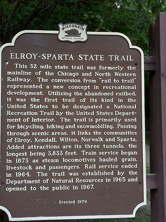 Bike Trails Elroy Spart 2nd half 7-15-11
