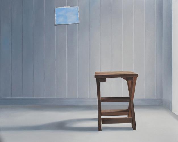 The inner landscape, 130.3×162.2cm, oil on canvas, 2017