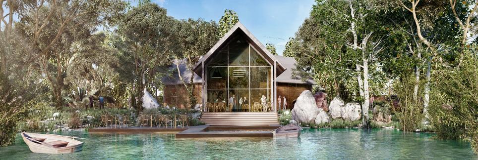 Eco Park Pavilion
