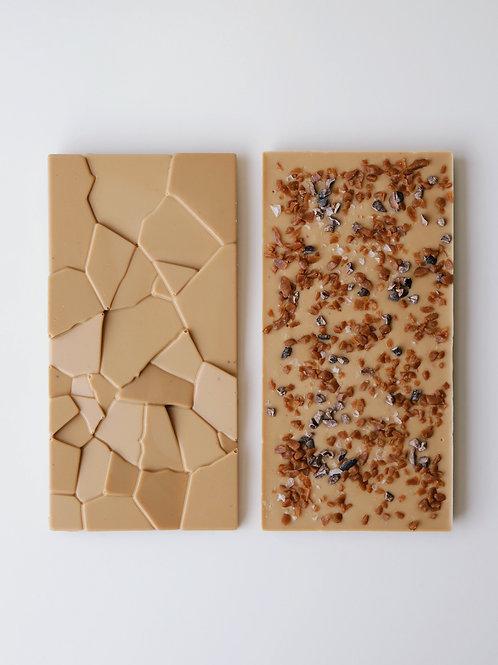 Caramelised White Chocolate - 100g Bar