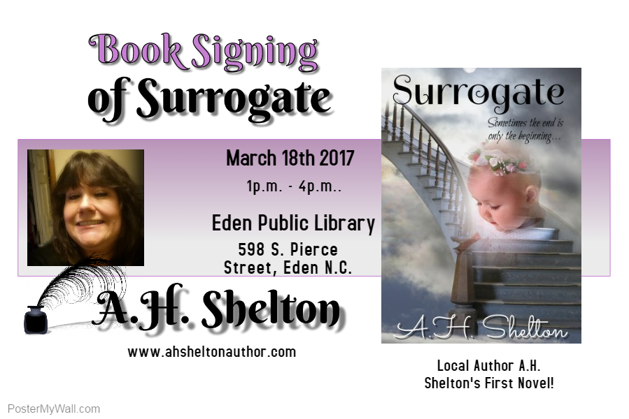 Surrogate Book Signing
