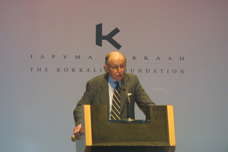Terrorism, religion, and globalization: Samuel Huntington speaks at the Athens Forum