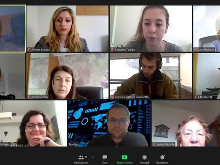 2η Διαδικτυακή Συνάντηση CREW