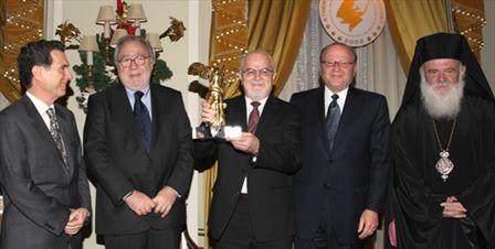 Greek Scientist from NASA Receives AIT's Niki Award 2009