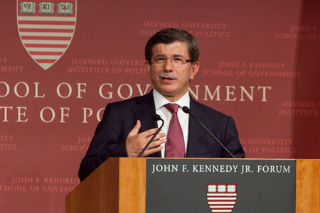 Turkish Foreign Minister Speaks at Harvard Sponsored by the Kokkalis Program