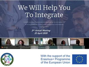 2η Εικονική Διακρατική Συνάντηση για το ευρωπαϊκό έργο HelpMi