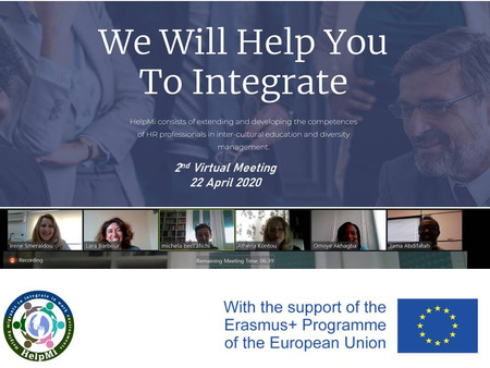 2nd Virtual Transnational Meeting for HelpMi Project